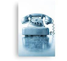 the blue telephone I Canvas Print