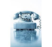 the blue telephone I Photographic Print