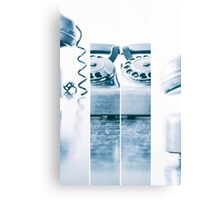 the blue telephone III Canvas Print