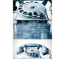 the blue telephone II Photographic Print