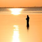 Fishing in Liquid Sunshine by Blaze66
