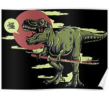 Ninja Dino Poster