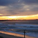 Bate Bay Sunrise by Brandon Galwey