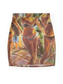 Three Ladies Mini Skirt