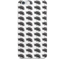 kune kune pigs iPhone Case/Skin