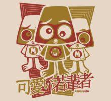 Miffed Mascot Stencil by KawaiiPunk