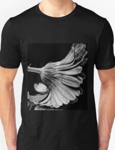 Flower in Black and white. Unisex T-Shirt
