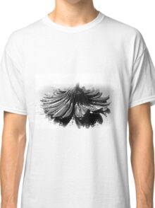 Flower #2 in Black and White. Classic T-Shirt