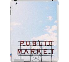 public market. iPad Case/Skin