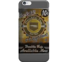 Double Tap Vintage Poster iPhone Case/Skin