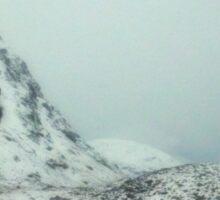 the cold north-scotland Sticker