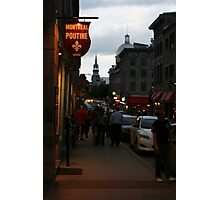 True Old Montreal Photographic Print