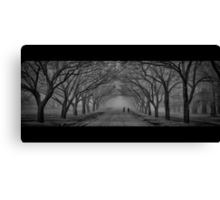 ...the daily commute... Canvas Print