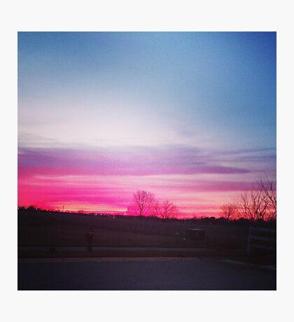 Dreamy Sunset Photographic Print