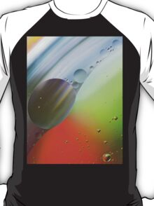 Abstract Oil in water. T-Shirt