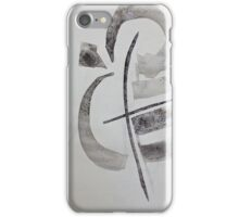 singing walking stick iPhone Case/Skin