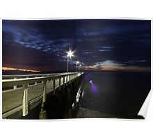 Wellington Point Jetty Poster