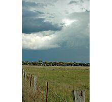 Looming Rain Photographic Print
