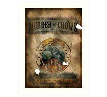 Murder of Crows Vigor Poster Art Print