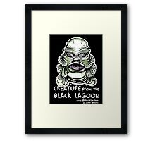 Lagoon Creature Framed Print
