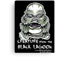 Lagoon Creature Canvas Print