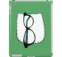 Glasses in pocket iPad Case/Skin