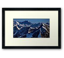 himalayan mountains, nepal Framed Print