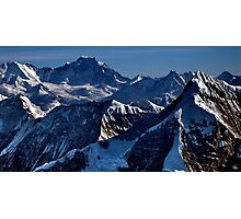 himalayan mountains, nepal Photographic Print