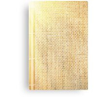 beige sunflare Canvas Print