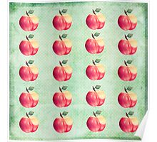 Red Apple Delight Poster