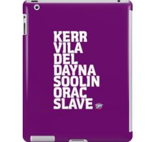 Blake's 7: Series 4 Crew iPad Case/Skin