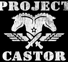 Project Castor Military Logo by kayve