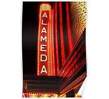 Alameda Theatre Poster