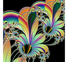 Floral Fractal Photographic Print