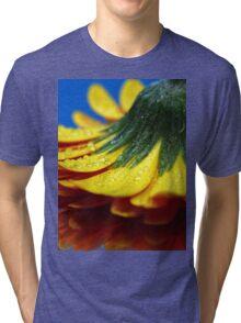 A yellow flower. Tri-blend T-Shirt