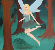 Forrest Fairy by Laura Dhir