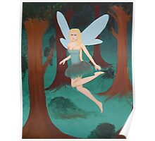 Forrest Fairy Poster