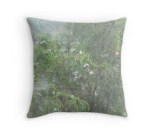 Riverbank Invasion Throw Pillow
