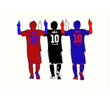 Lionel Messi - The Greatest Ever Art Print