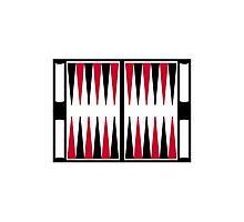 Backgammon board Photographic Print