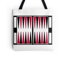 Backgammon board Tote Bag