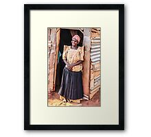 Come in! Framed Print