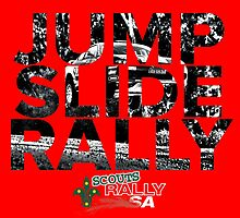 Jump Slide Rally - Red by scoutsrallysa