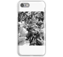 NYC Union Square Blooms Black and white iPhone Case/Skin