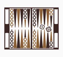 Backgammon board Kids Tee