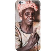 Let me tell you something iPhone Case/Skin