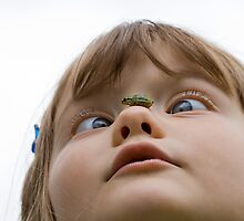 What a Nosey Little Frog by Coreycw