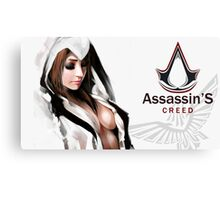 Assassins Creed Fanart Canvas Print