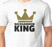 Backgammon King Unisex T-Shirt