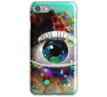 ABSTRACT EYE ART iPhone Case/Skin